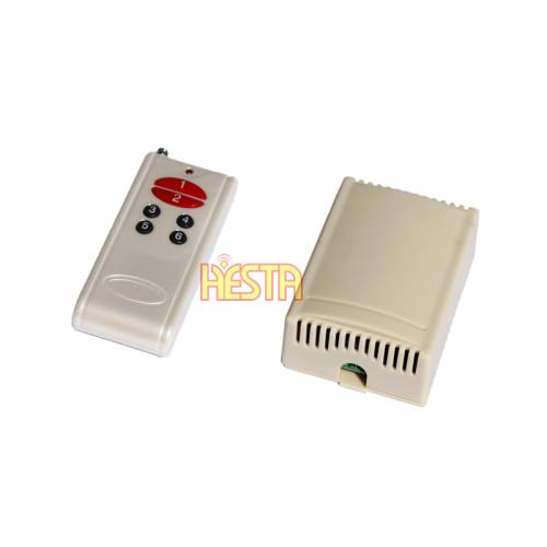 6CH Channel RF Remote Control Switch DC12V System Relay Wireless Receiver Transmitter