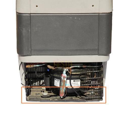 Mounting, base compressor for Indel B TB 31A, 41A, 51A fridge
