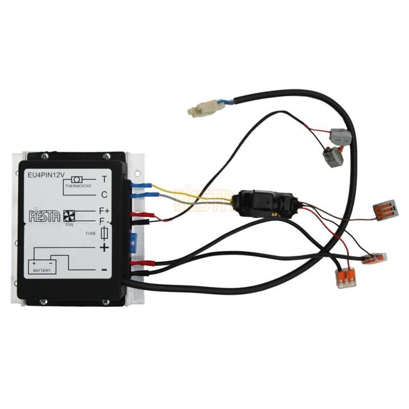 Starter module for Westfalia refrigerator with Danfoss compressor BD2.5 4-Pin