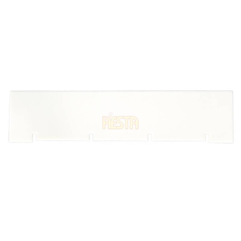 White, transverse seal for FJ1100, FJ1700, FJ2200 roof air conditioner