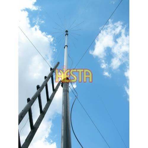 Installation of CB antennas – Radom