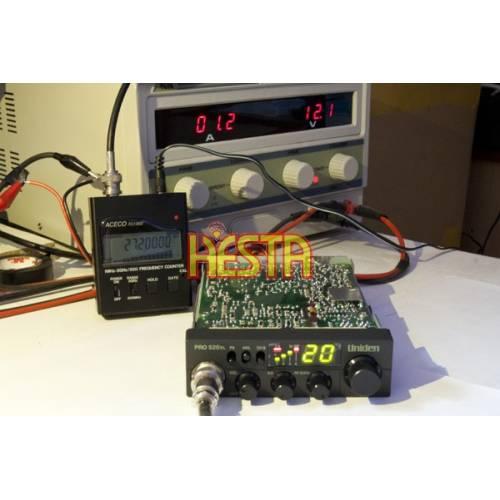 Tuning of CB radio