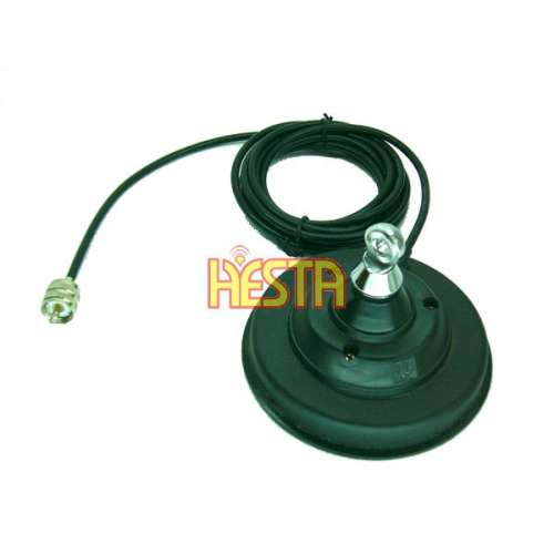 Magnetic base 120 DV for mobile antenna CB radio, KF, UHF