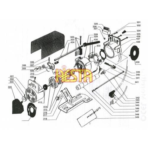 Rezystor mocy do silnika