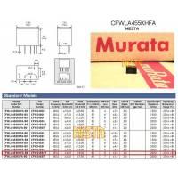 Filtr ceramiczny 455kHz +/- 3kHz - muRata - 455HT