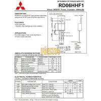 Końcówka mocy w.cz RD06HHF1