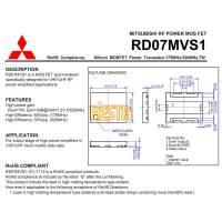 Końcówka mocy w.cz RD07MVS1
