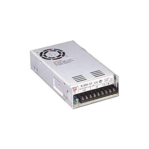 Power supply S-350-12, transformer 12V, 29A, 350W