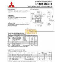 Tranzystor mocy w.cz RD01MUS1