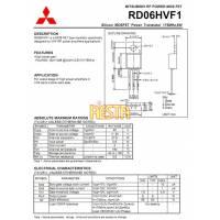 Końcówka mocy w.cz RD06HVF1