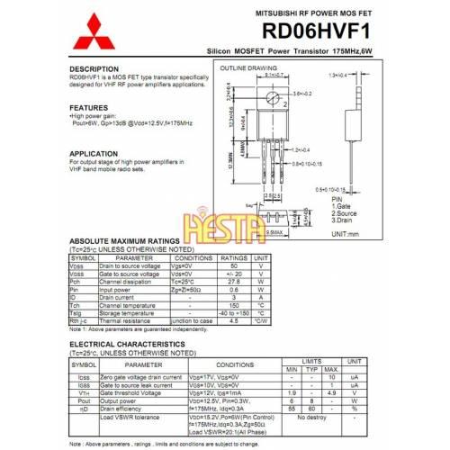 Transistors, high frequency power endings, bipolar, unipolar, mosfet