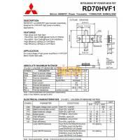 Końcówka mocy w.cz RD70HVF1