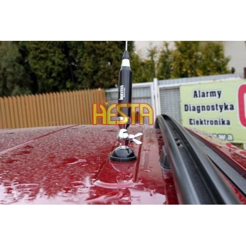 Montaż anteny CB w dachu samochodu