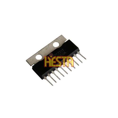 Integrated Circuit UTC7217AP CB Radio Audio Power Amplifier replacement KIA7217AP (KEC)