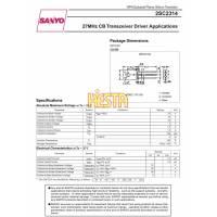 Tranzystor (driver) w.cz 2SC2314 (SANYO)