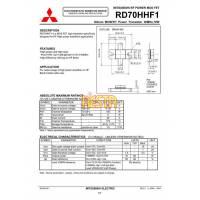Końcówka mocy w.cz RD70HHF1