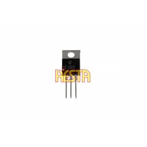 Transistor 2SC1969 - Amplificateur de puissance radio CB