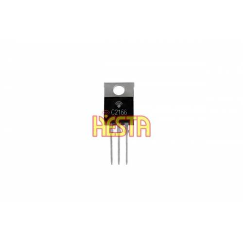 Tranzystor 2SC2166 - Końcówka mocy w.cz. do CB radia