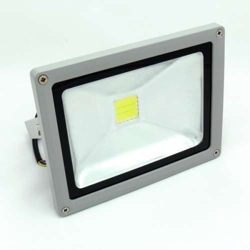 20W LED Outdoor Floodlight - Halogen - cold white