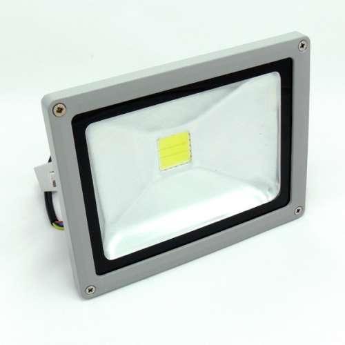 Naświetlacz - Halogen – Lampa LED 20W biała zimna zewnętrzna
