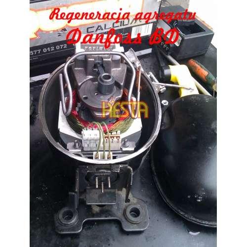 Repair - regeneration, commissioning of the unit, Danfoss BD refrigeration compressor