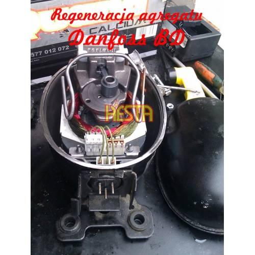 Reparatur - Regeneration, Inbetriebnahme des Geräts, Danfoss BD Kühlkompressor