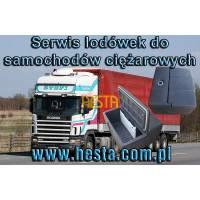 Naprawa lodówek samochodowych - Lodówka Scania 4 /124L