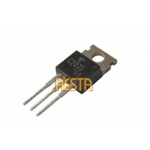Транзистор 2SC2075 Toshiba - усилитель мощности для радио CB