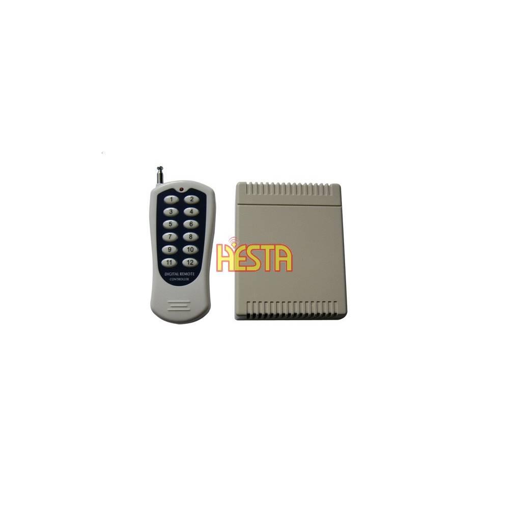 12 V 12CH Canaux Télécommande Sans Fil Relais radio Interrupteur émetteur-Récepteur Récepteur