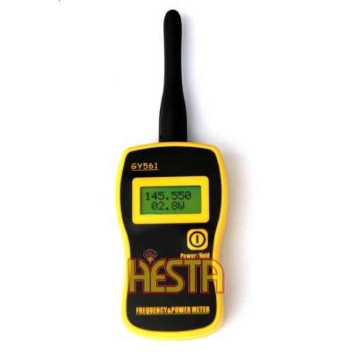 Przenośny miernik częstotliwości i mocy GY561 o zakresie pracy od 1MHz do 2.4 GHz