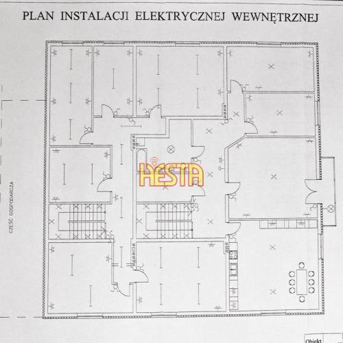 plan instalacji elektrycznej