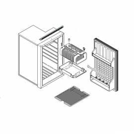 Spare parts to refrigerator IndelB