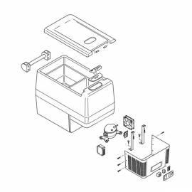 IndelB TB41a - запасные части к автомобильный холодильнику