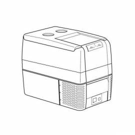 Waeco - CCF 45 - Teile für tragbare Kompressor-Kühlbox