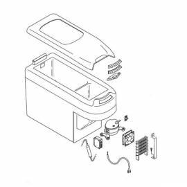 IndelB TB15, 18 - spare parts to fridge