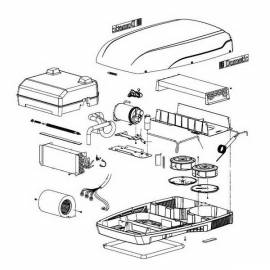 Spare parts to air conditioners Dometic